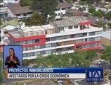 Proyectos inmobiliarios afectados por la crisis económica