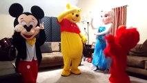 "Elmo, Elsa, Pooh, and Mickey ""Hit the Quan """