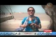 Gharida Farooq Taking Training & Dancing With Army Jawans
