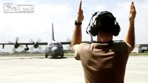 AC-130H Spectre attacking Afghanistan insurgents