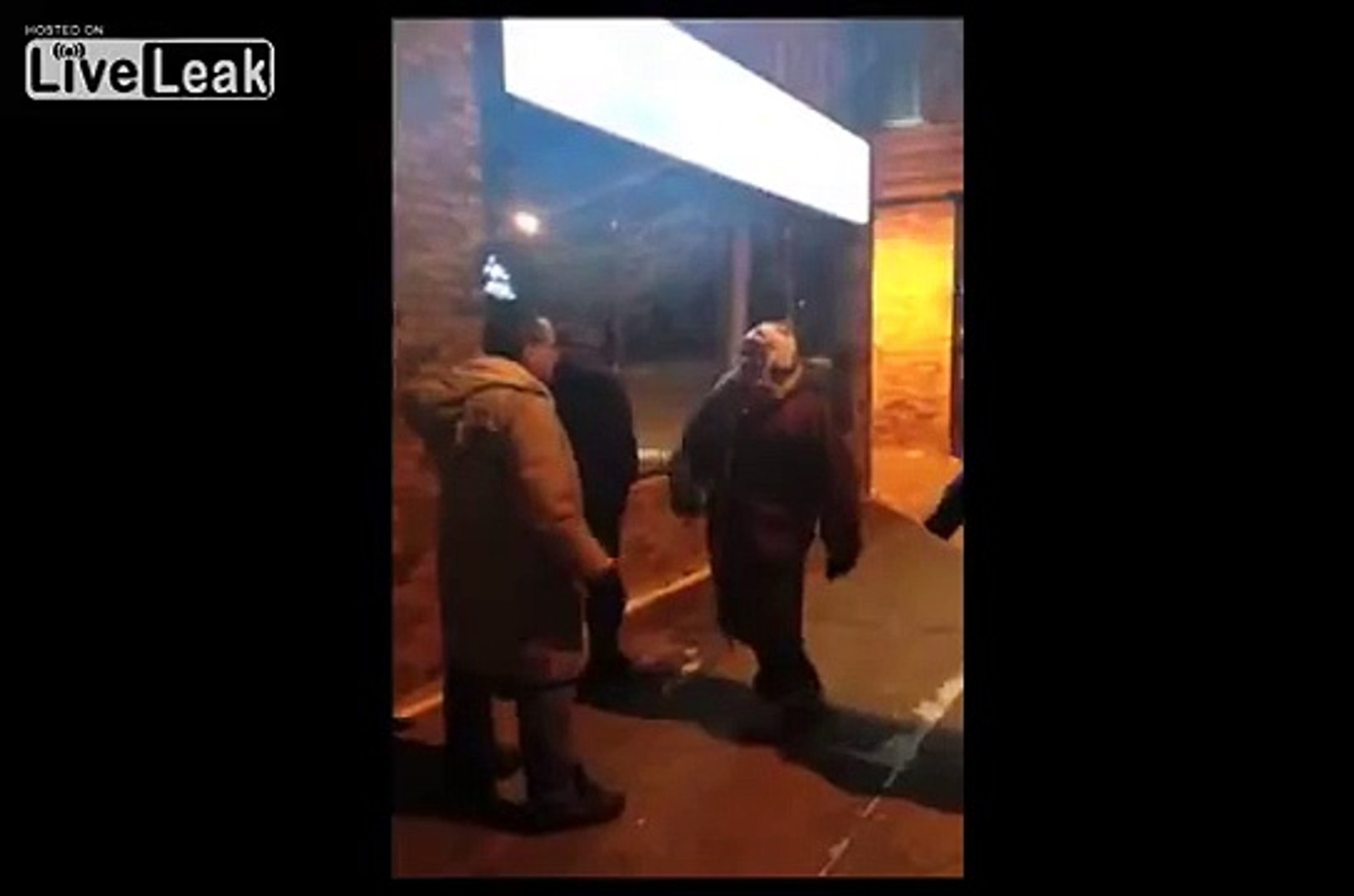 Wife Beats Man Beats Husband In Public