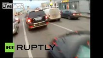 Russia: Watch Moscow cops bust criminals GoPro style