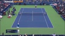 Benoit Paire lâche sa raquette en plein match vs Kei Nishikori