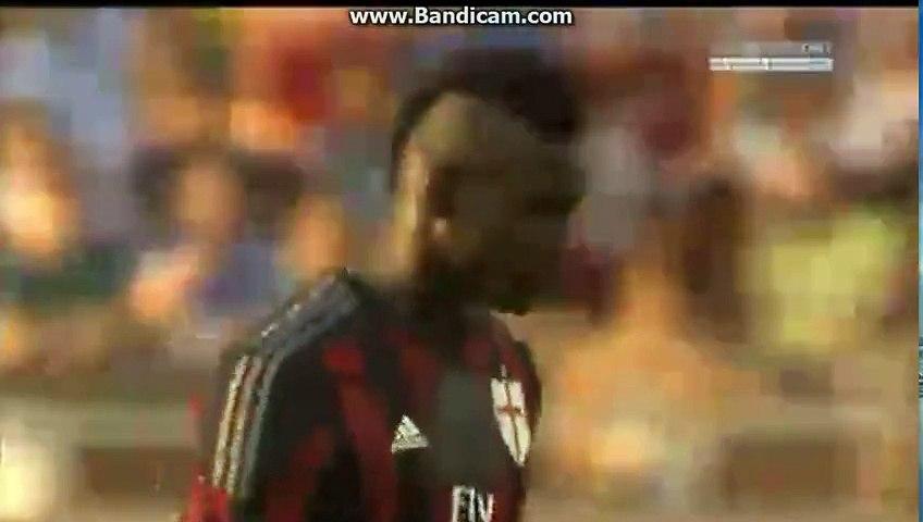 super goal Mario Balotelli -Mantova 0-1 AC Milan  friendly 03.09.2015