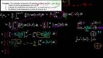 Ex. avec f(t) = t sur [0 ; π[  2/ calcul de a(n) - Calculs finaux