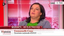 """TextO' : Migrants - Emmanuelle Cosse (EELV) : """"Oui, il faut accueillir tout le monde"""""""
