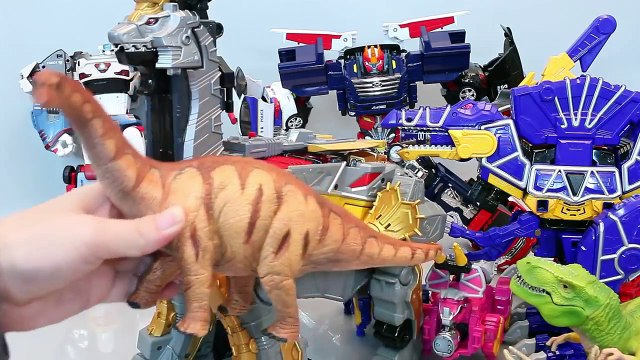 Đồ chơi siêu nhân khủng long sấm sét - Đồ chơi khủng long  - Power rangcers Toy