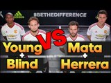 Football Tennis Match   Manchester United Players vs F2 Freestylers