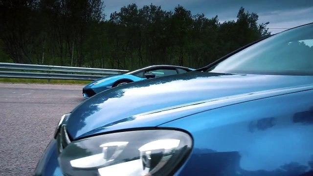 700 HP VW Golf R HGP Vs. Lamborghini Huracan Yarış Yaparsa