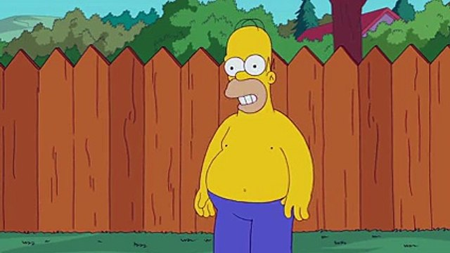 THE SIMPSONS _ Simpsons ALS Ice Bucket Challenge _ ANIMATION on FOX