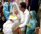 Groom Slaps his Bride during marriage ceremony