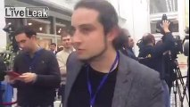 Russian Journalist Barks at Ukrainian Collegues