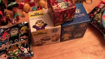FIVE TOY SURPRISES - DC Comics, Minions, Minecraft, Inside Out and Avengers