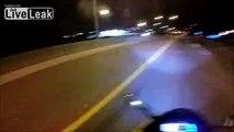 Road Rage Between Motorcycles and Honda Civic