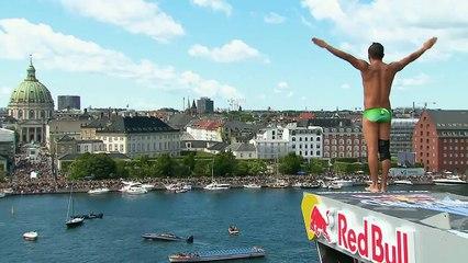 Red Bull Cliff Diving World Series from Copenhagen