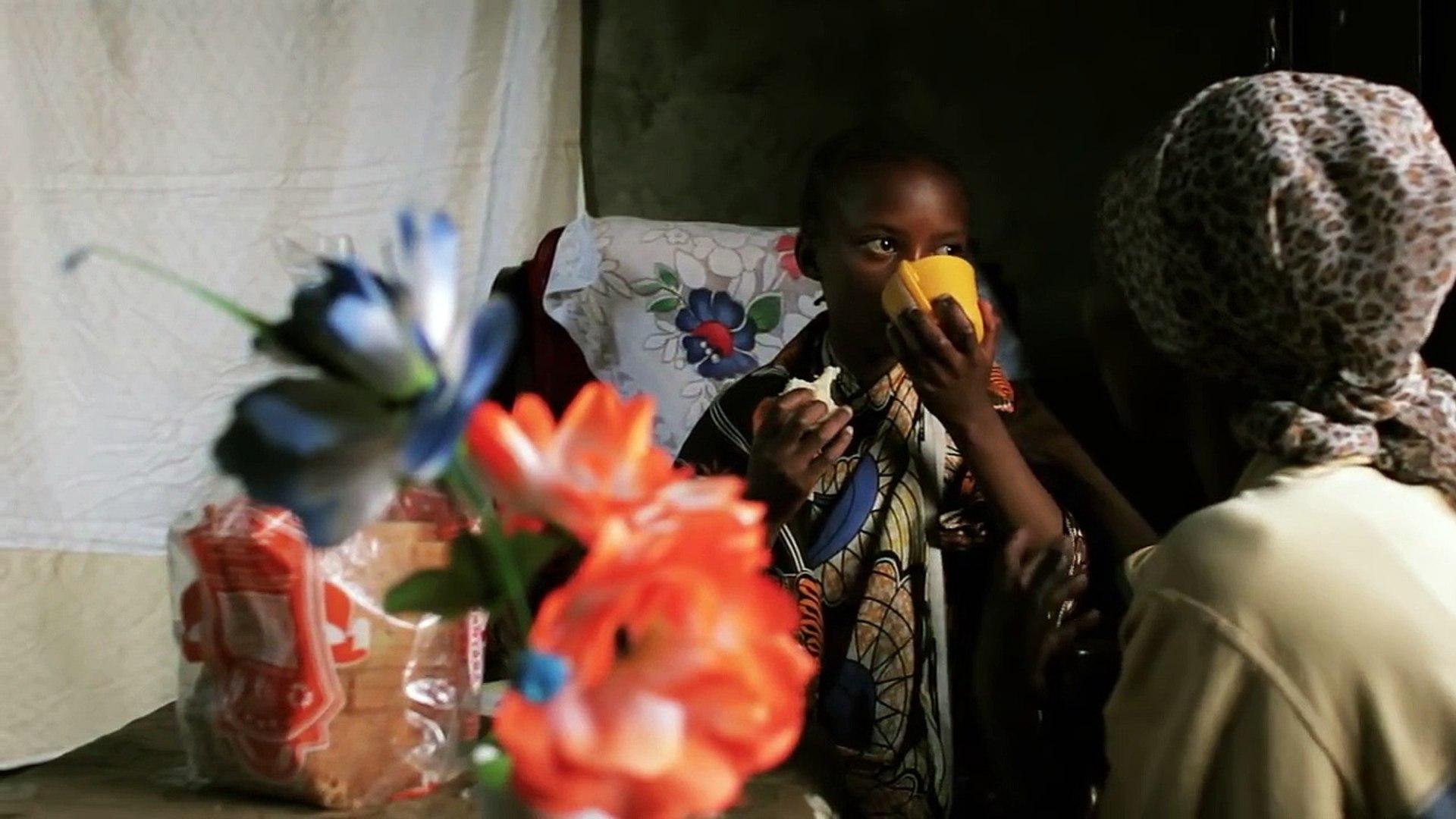 Documentary - African children. Tanzania, Africa.