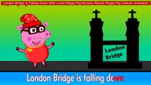 London Bridge Is Falling Down With Lyrics Peppa Pig Nursery Rhyme Peppa Pig Cartoon Animation