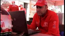 Dakar Rally 2014: De Villiers / Von Zitzewitz testing all-new Toyota Hilux in Namib Desert