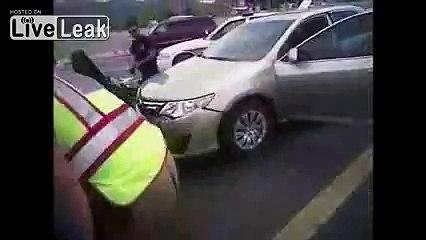 Jon Jones Hit And Run 911 Call and Police Camera Footage
