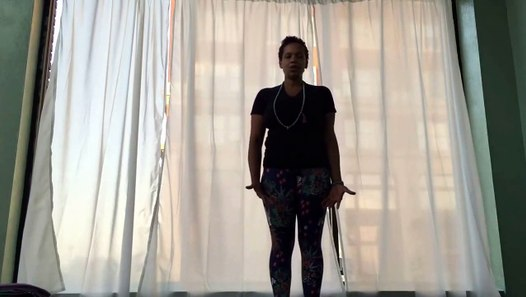 Forward fold or Uttanasana for Beginners with Nella Yoga ...