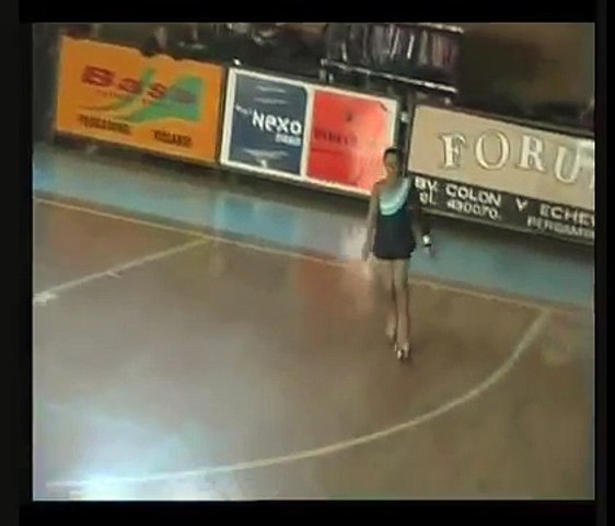 Patin artistico, Coreografia de Delfina