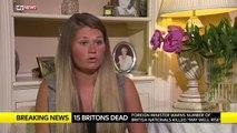 Tourists Return Home / Tunisia terrorist attack as ISIS Gunman On Beach