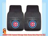 FANMAT 8782 Fanmat Chicago Cubs Heavy Duty Vinyl Car Mat
