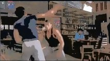 Jean Claude Van Damme vs Jean Claude Van Damme cartoon cartone animato
