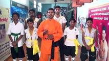 Nellore Children Self-Defense Techniques AP Shaolin Kung-fu Kids Fitness Training India Martial arts