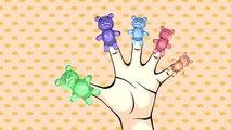 Gummy Bear Finger Family | Finger Family Song | Surprise Eggs Animation Nursery Rhymes for Children