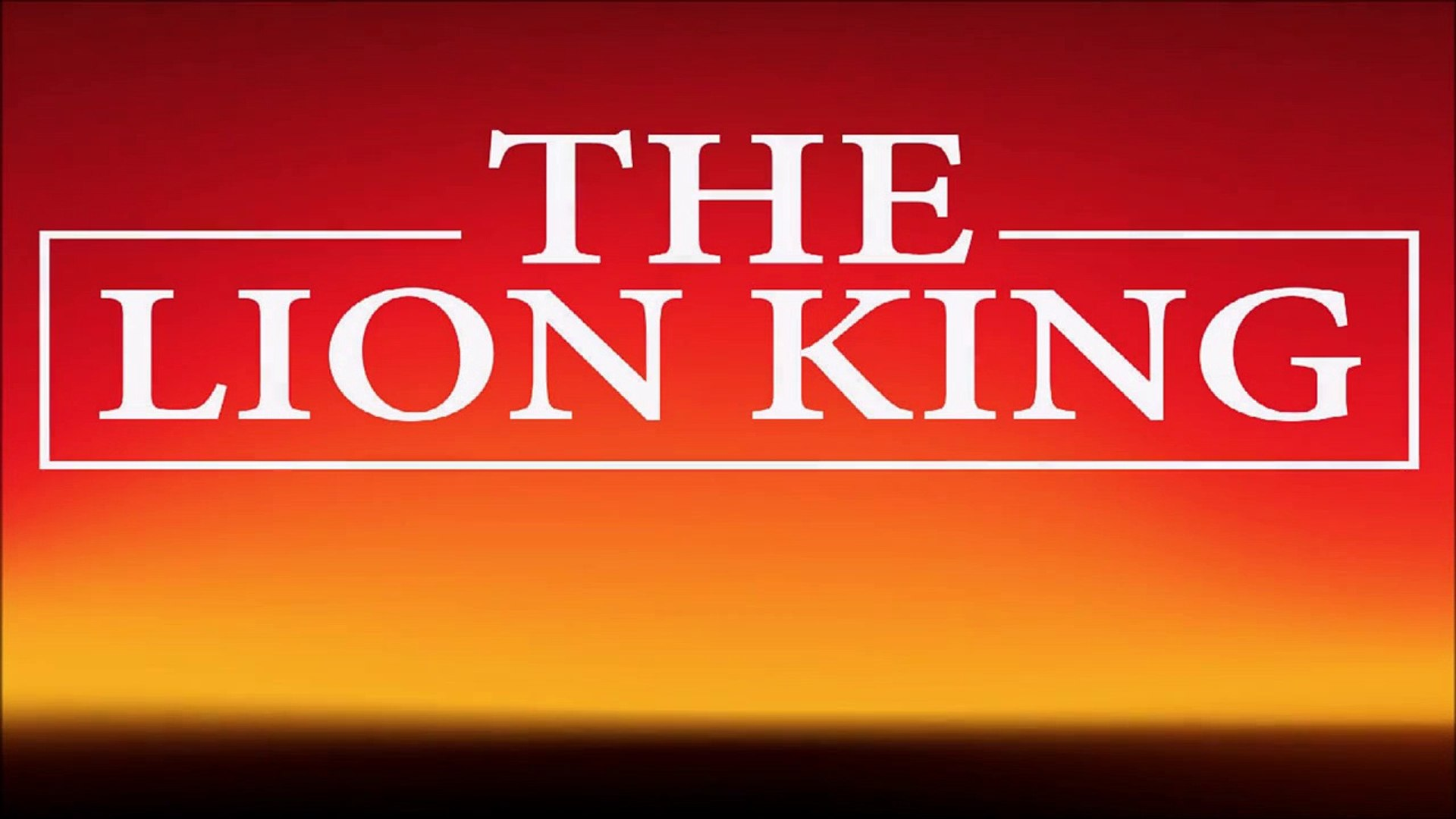 Can You Feel The Love Tonight Ringtone The Lion King Theme Video Dailymotion