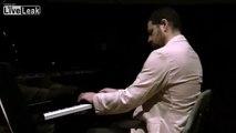 Israeli composer Elisha Abas (descendant of Scriabin) -,  plays his 'New York fantasy'