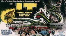 It Came From Beneath The Sea (1955 science fiction/giant monster film original trailer)