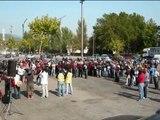 MOTEROS EN LA 1º VUELTA A ESPAÑA EN MOTO POR LA SEGURIDAD VIAL ETAPA 10º