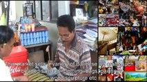 沢山のバリのグッズ スカワティ市場 ギャニャール、バリ島