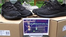 Authentic Adidas Yeezy Boost 350 Low Black&Grey Review (www.kicksontrade.ru)