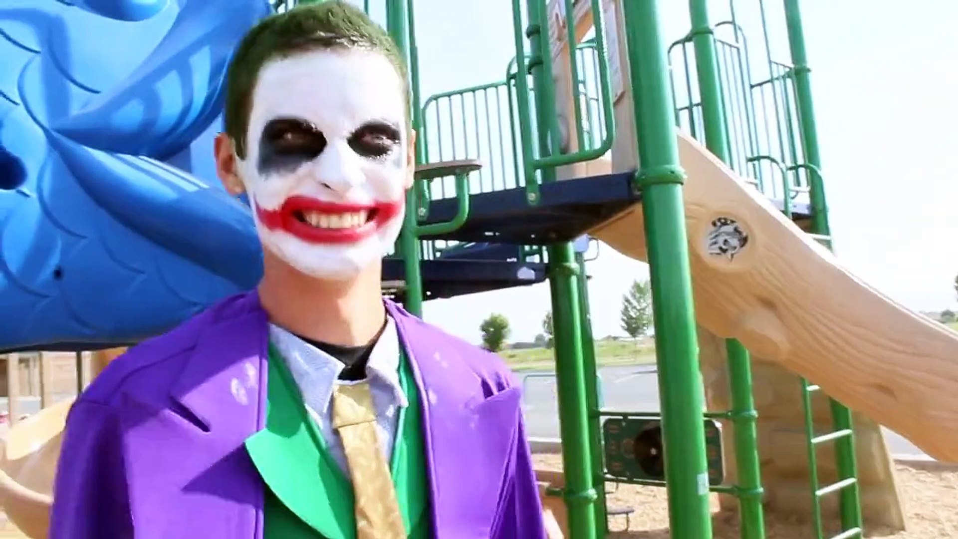 Spiderman Vs Joker Real Life Superhero Battle Death Match Video Dailymotion