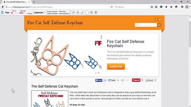 Cat self defense keychain The Finest Cat self defense keychain