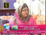 Good Morning Pakistan With Nida Yasir on ARY Digital Part 2 - 4th September 2015