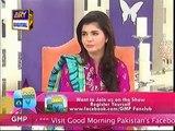 Good Morning Pakistan With Nida Yasir on ARY Digital Part 3 - 4th September 2015