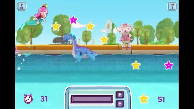 Disney Jr Doc McStuffins Melinda's Making a Splash Cartoon Animation Game Play Walkthrough