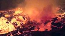 Exploit au Nyiragongo : descente au bord de l'immense lac de magma en fusion !
