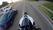 Course poursuite : flics vs motard