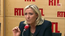 """Marine Le Pen : """"Une énorme différence stratégique"""" avec son père"""