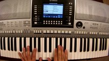 Feder feat. Lyse - Goodbye - piano keyboard synth cover by LiveDjFlo