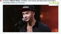 Simon Cowell boots Mason Noise off the X Factor