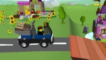 Lego Yellow Tractor | Cartoon about Lego Yellow Tractor | Lego Yellow Tractor for kids