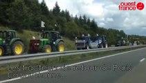 Agriculteurs en colère. Les tracteurs de retour de Paris
