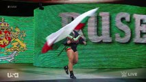 Dolph Ziggler (w/ Lana) vs. Rusev (w/ Summer Rae)