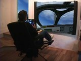 FSX Home Flight Full Motion Simulator X  FSX Pilot Gaming Chair 2010